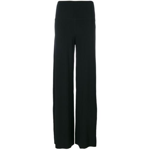 Imagen principal de producto de Norma Kamali pantalones anchos - Negro - Norma Kamali