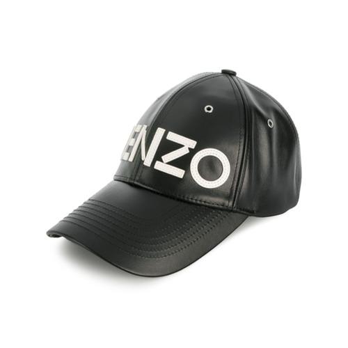 Kenzo gorra de béisbol con logo - Negro