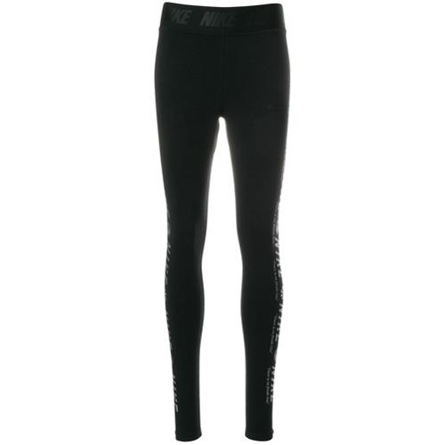 Imagen principal de producto de Nike leggins con logo estampado - Negro - Nike