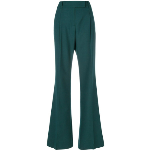 Imagen principal de producto de Prada pantalones de pinzas de talle alto - Verde - Prada