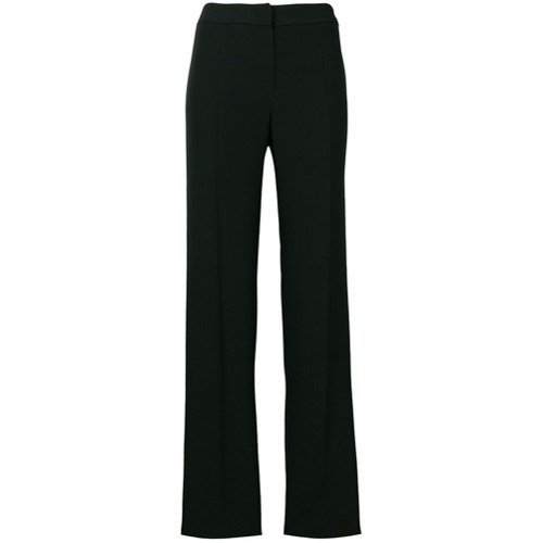Imagen principal de producto de Emporio Armani pantalones de vestir con corte recto - Negro - Emporio Armani