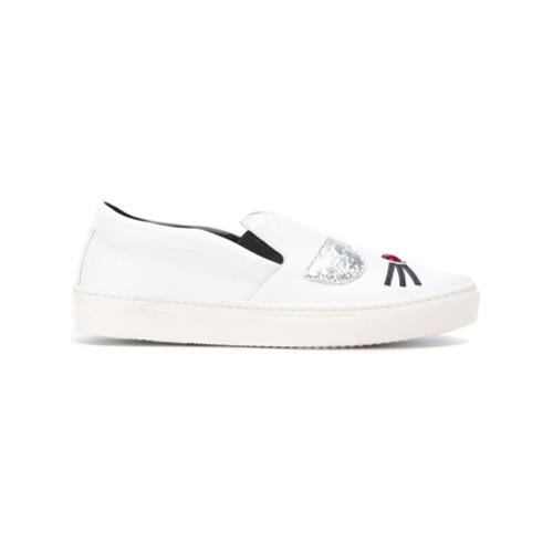 Imagen principal de producto de Karl Lagerfeld zapatillas slip-on - Blanco - KARL LAGERFELD