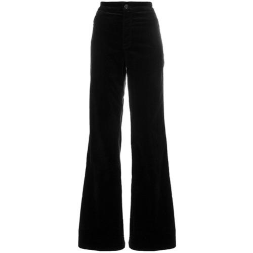 Imagen principal de producto de J Brand pantalones con franja lateral - Negro - J Brand