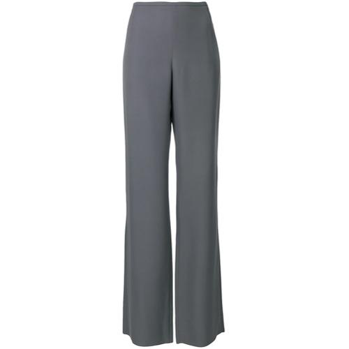 Imagen principal de producto de Emporio Armani pantalones acampanados de talle alto - Gris - Emporio Armani