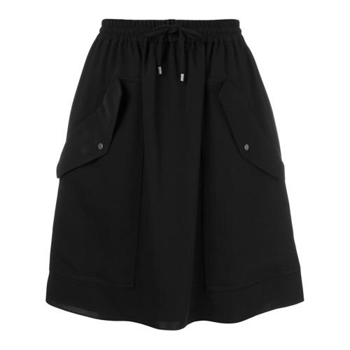 Imagen principal de producto de Kenzo falda con bolsillos a los lados - Negro - Kenzo