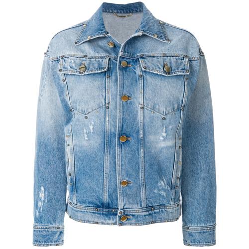 Imagen principal de producto de Versace chaqueta vaquera - Azul - Versace