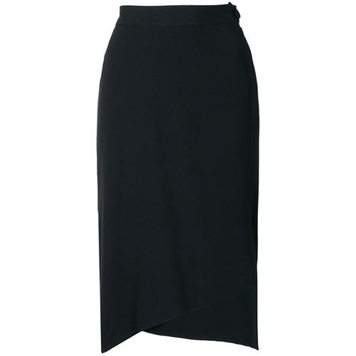 Imagen principal de producto de Vivienne Westwood falda con dobladillo asimétrico - Negro - Vivienne Westwood
