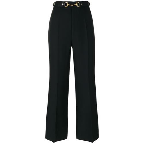 Imagen principal de producto de Gucci pantalones estilo capri - Negro - Gucci