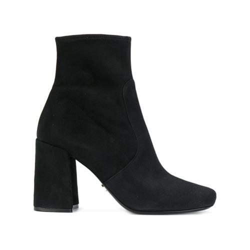 Imagen principal de producto de Prada botas con cremallera lateral - Negro - Prada