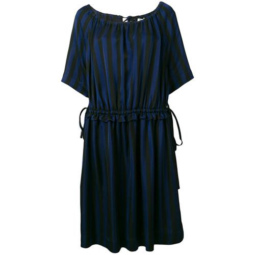 Imagen principal de producto de Kenzo vestido midi de rayas - Azul - Kenzo