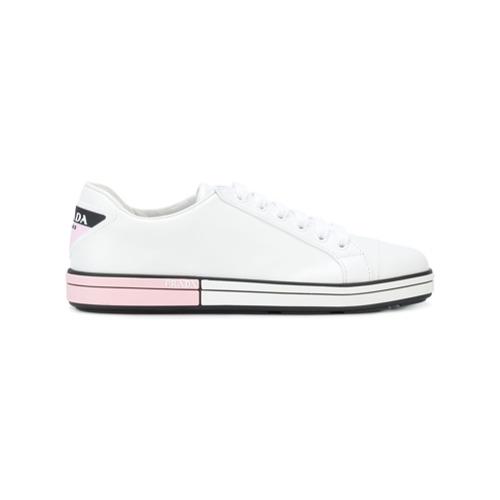 Imagen principal de producto de Prada zapatillas bajas - Blanco - Prada