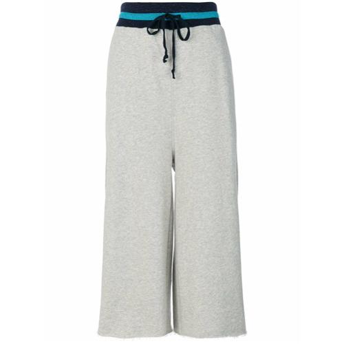 Imagen principal de producto de Diesel pantalones de chándal anchos - Gris - Diesel