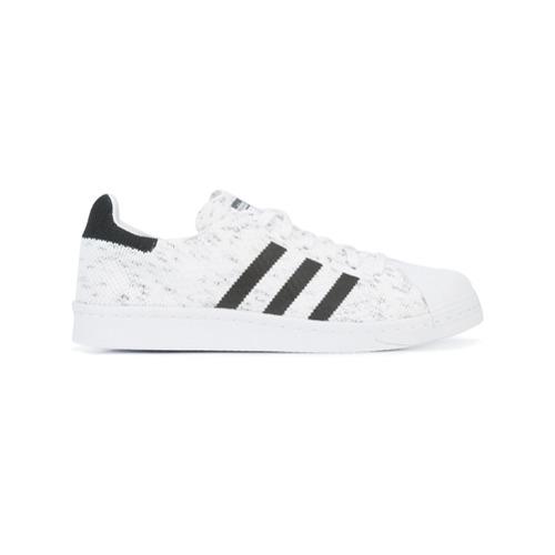 Imagen principal de producto de Adidas zapatillas Superstar de punto - Blanco - Adidas