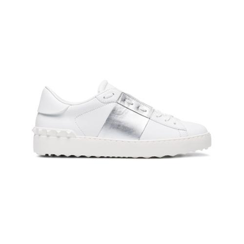 Imagen principal de producto de Valentino zapatillas abiertas con colour block - Blanco - Valentino