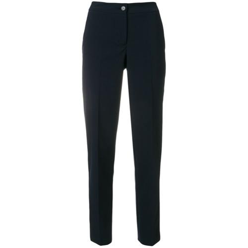 Imagen principal de producto de Emporio Armani pantalones con corte tapered - Azul - Emporio Armani