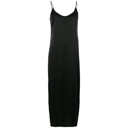 Imagen principal de producto de La Perla slip dress largo - Negro - La Perla