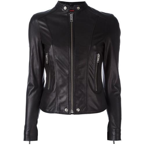 Imagen principal de producto de Diesel chaqueta con cuello mao - Negro - Diesel