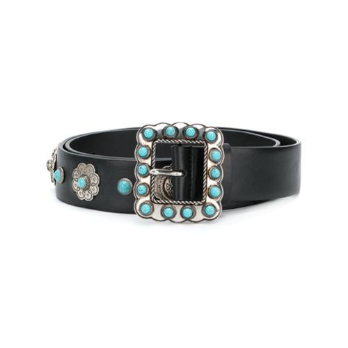 Imagen principal de producto de Prada cinturón con detalles - Negro - Prada