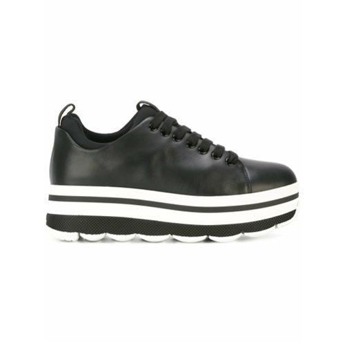 Imagen principal de producto de Prada zapatillas con plataforma - Azul - Prada