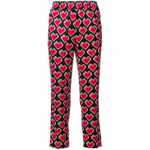 Imagen principal de producto de Love Moschino pantalones capri estampados - Negro - Moschino