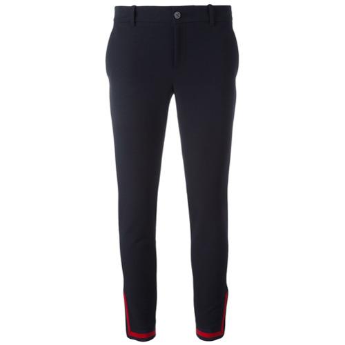 Imagen principal de producto de Gucci pantalones con cremallera en el tobillo - Azul - Gucci