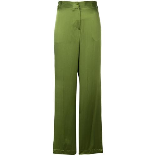 Imagen principal de producto de Equipment pantalones con corte ancho - Verde - Equipment