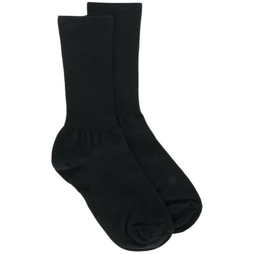 Imagen principal de producto de Versace calcetines de canalé - Negro - Versace