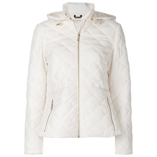 Imagen principal de producto de Michael Michael Kors chaqueta con peplum acolchada - Blanco - MICHAEL Michael Kors
