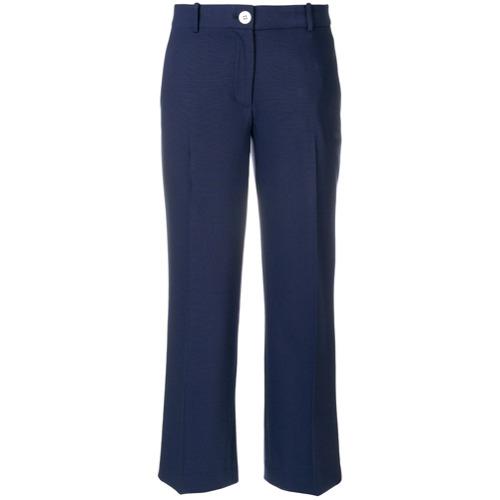 Imagen principal de producto de Michael Michael Kors pantalones rectos capri - Azul - MICHAEL Michael Kors