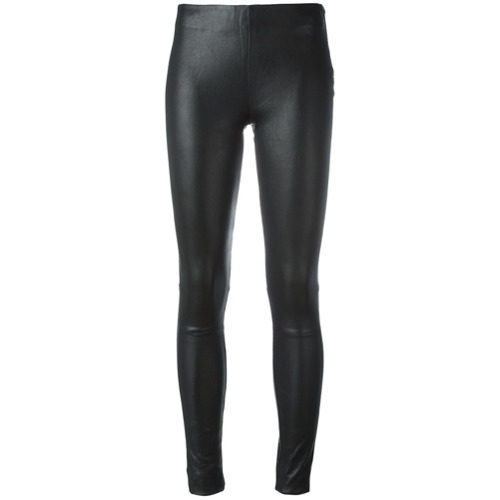 Imagen principal de producto de Just Female leggins de cuero - Negro - JUST FEMALE
