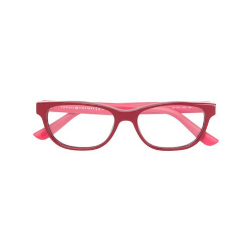 Imagen principal de producto de Tommy Hilfiger gafas con montura redonda - Rojo - Tommy Hilfiger