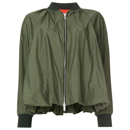 Imagen principal de producto de Valentino chaqueta bomber abombada - Verde - Valentino