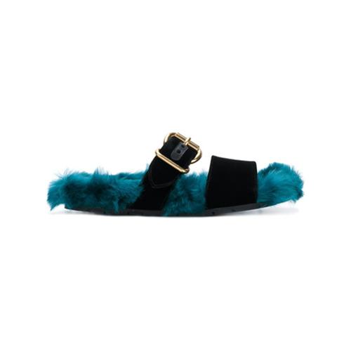 Imagen principal de producto de Prada sandalias con hebilla - Negro - Prada