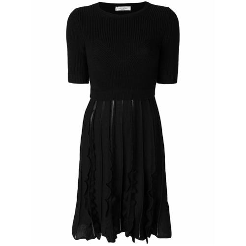 Imagen principal de producto de Valentino vestido midi de punto - Negro - Valentino