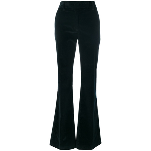 Imagen principal de producto de Prada pantalones de pana acampanados - Azul - Prada