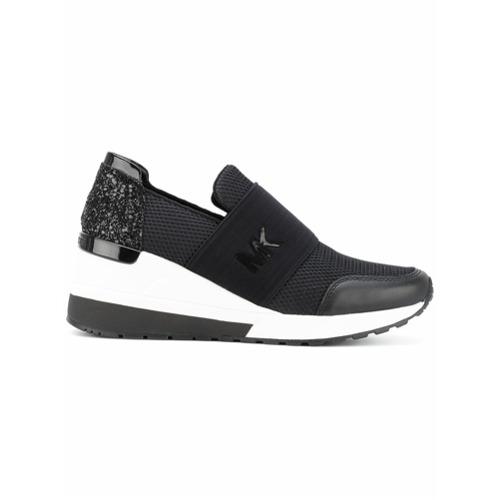 Imagen principal de producto de Michael Michael Kors zapatillas Felix - Negro - MICHAEL Michael Kors