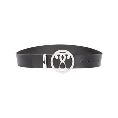 Imagen principal de producto de Moschino cinturón con logo - Negro - Moschino