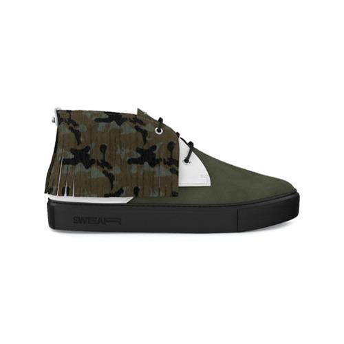 Imagen principal de producto de Swear zapatillas mid-top Maltby - Verde - Swear