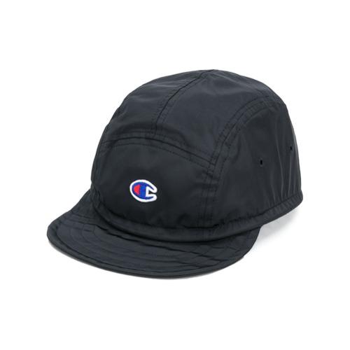 Champion gorra con bordado del logo - Negro