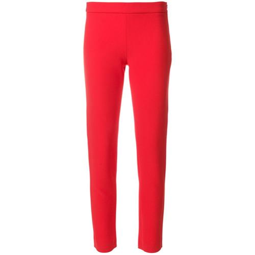 Imagen principal de producto de Moschino pantalones slim de talle alto - Rojo - Moschino
