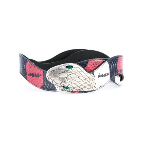 Imagen principal de producto de Gucci cinturón con detalles - Azul - Gucci