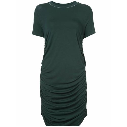Imagen principal de producto de Carven vestido estilo camiseta fruncido - Verde - Carven
