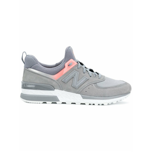 Imagen principal de producto de New Balance 574 laced sneakers - Gris - New Balance