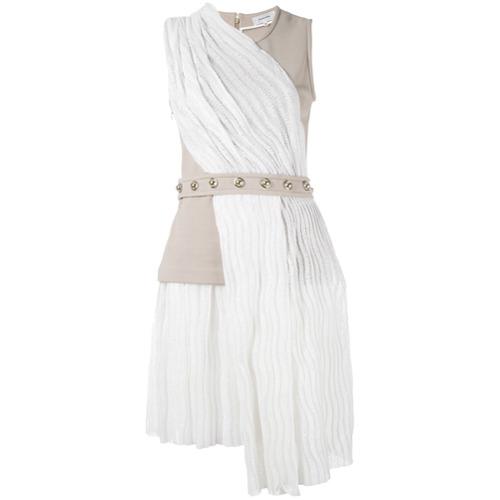 Imagen principal de producto de Carven vestido con cinturón - Blanco - Carven