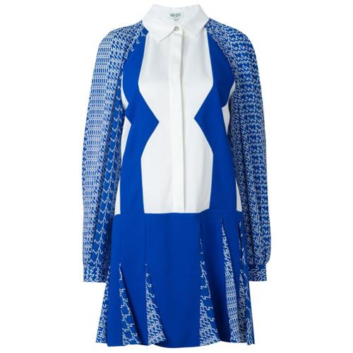 """Imagen principal de producto de Kenzo vestido """"Diagonal Stripes"""" - Blanco - Kenzo"""