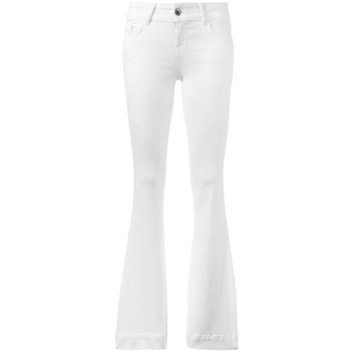 Imagen principal de producto de J Brand pantalones acampanados - Blanco - J Brand
