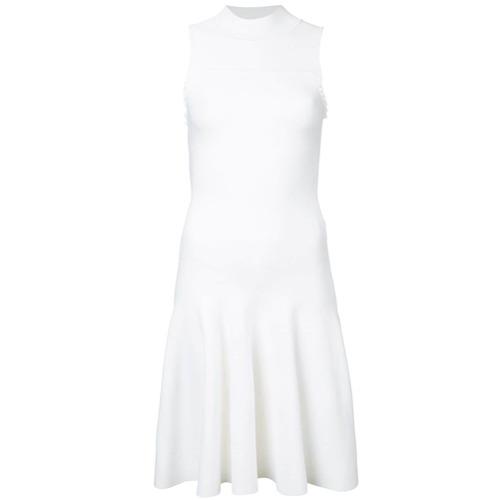 Imagen principal de producto de Carven vestido con cuello mao - Blanco - Carven