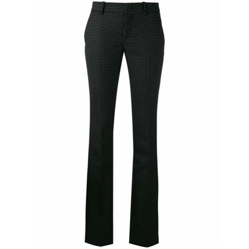Imagen principal de producto de Gucci pantalones con estampado a lunares - Negro - Gucci
