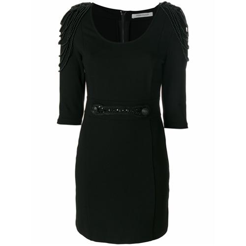 Imagen principal de producto de Pierre Balmain vestido con bordado de cuentas - Negro - Pierre Balmain