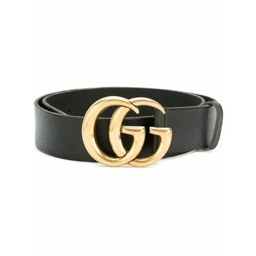 """Imagen principal de producto de Gucci cinturón """"Double G"""" - Negro - Gucci"""